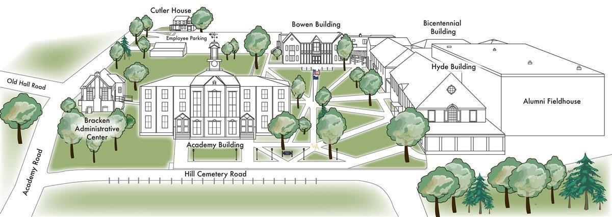 Maps North Campus