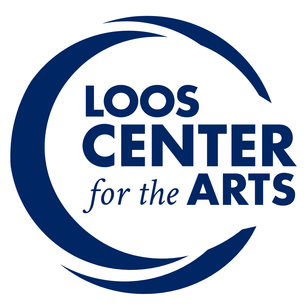 Loos Center for the Arts Logo