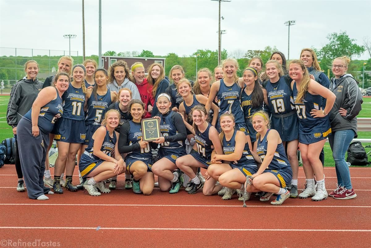 Woodstock Academy captured the ECC girls lacrosse championship Thursday
